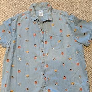 Lion King chambray shirt